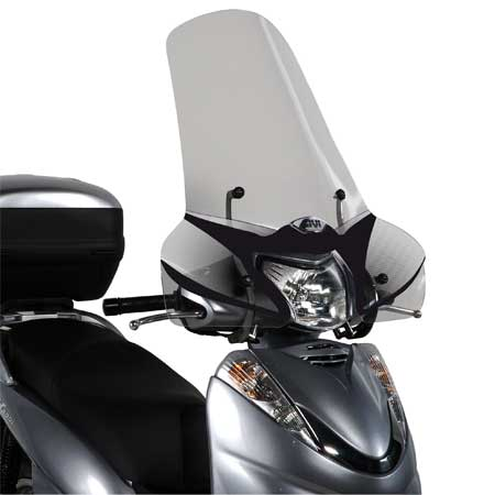 parabrisas transparente givi moto honda shi 300 07 14 nilmoto. Black Bedroom Furniture Sets. Home Design Ideas