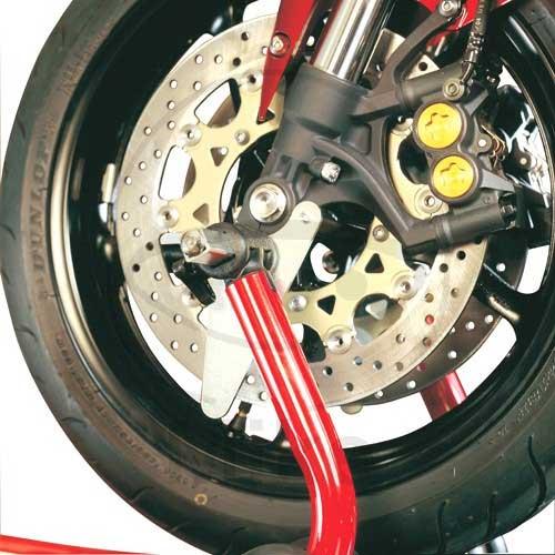 Juego adaptadores con rodillos caballete delantero Bike-Lift Stand10 ... 2c3009aa5284