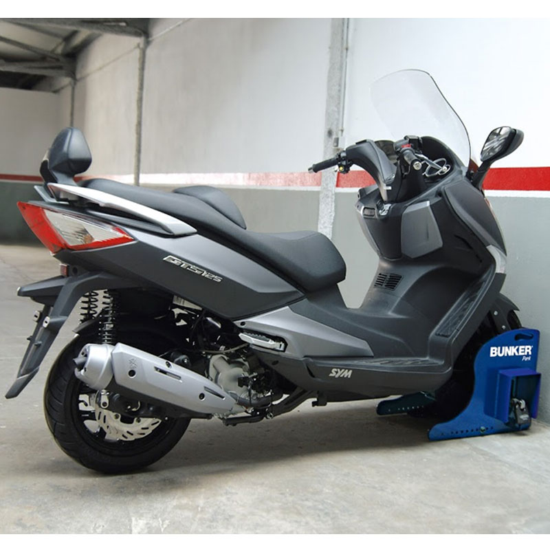 Sistema antirrobo universal de scooter para garaje artago bunker bp68s nilmoto - Antirrobo moto garaje ...