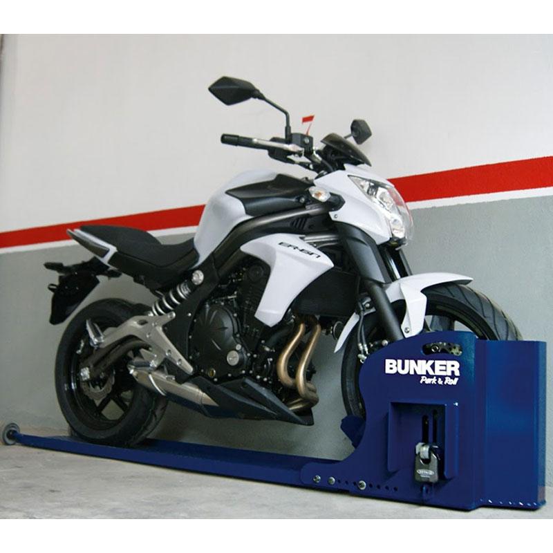 Sistema antirrobo de moto para garaje bunker park roll artago bpr68m nilmoto - Antirrobo moto garaje ...