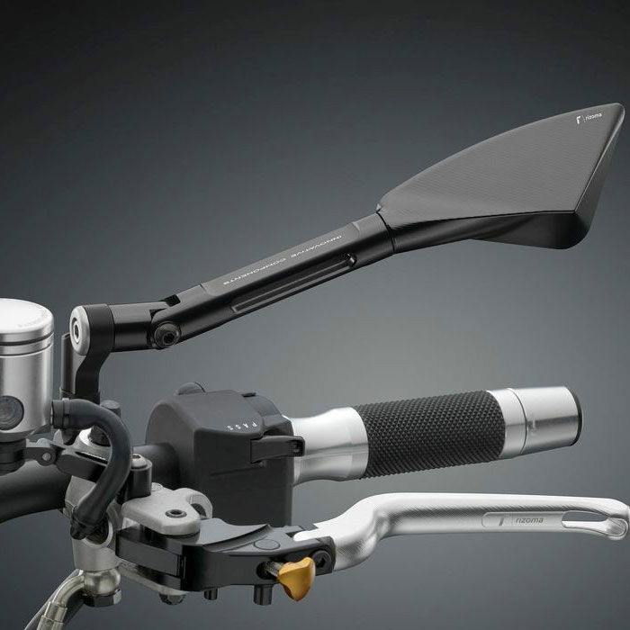 Espejo retrovisor para moto rizoma modelo tomok nilmoto for Espejo retrovisor para ninos