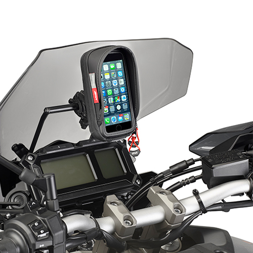 barra porta gps smartphone en la cupula para yamaha mt09 tracer 15 nilmoto. Black Bedroom Furniture Sets. Home Design Ideas