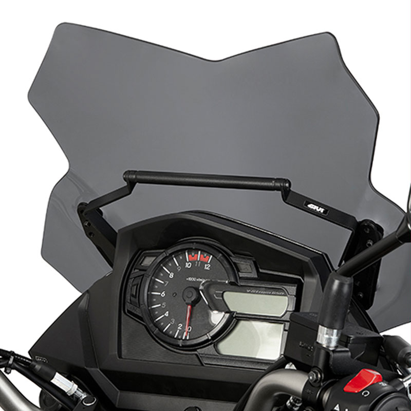 barra soporte smarthphone gps givi suzuki vstrom 650 17 nilmoto. Black Bedroom Furniture Sets. Home Design Ideas