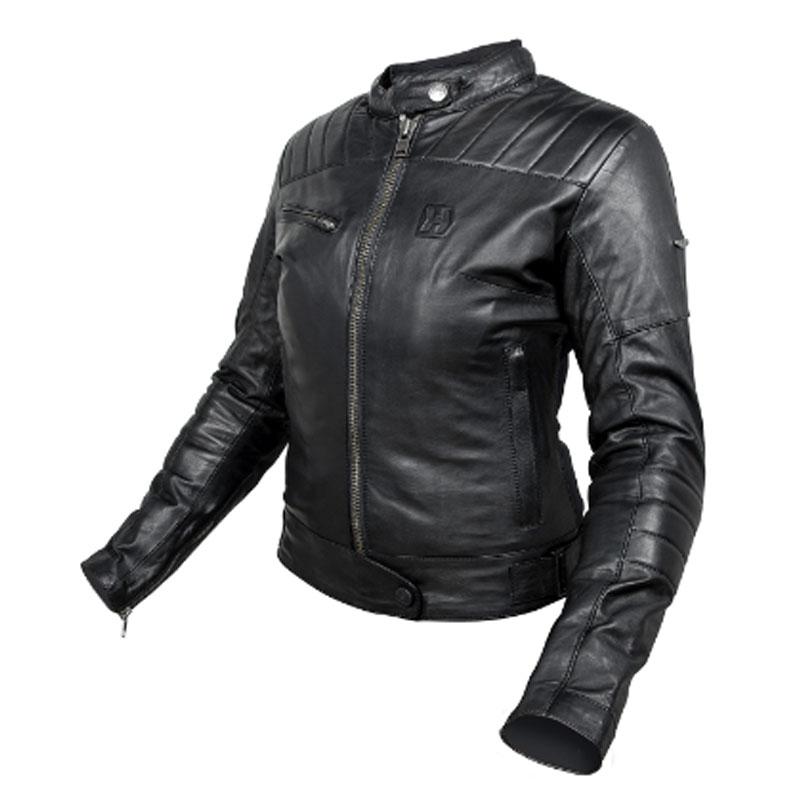 8e83ea3a5e6 Chaqueta moto Hevik de piel para mujer Modelo Garage