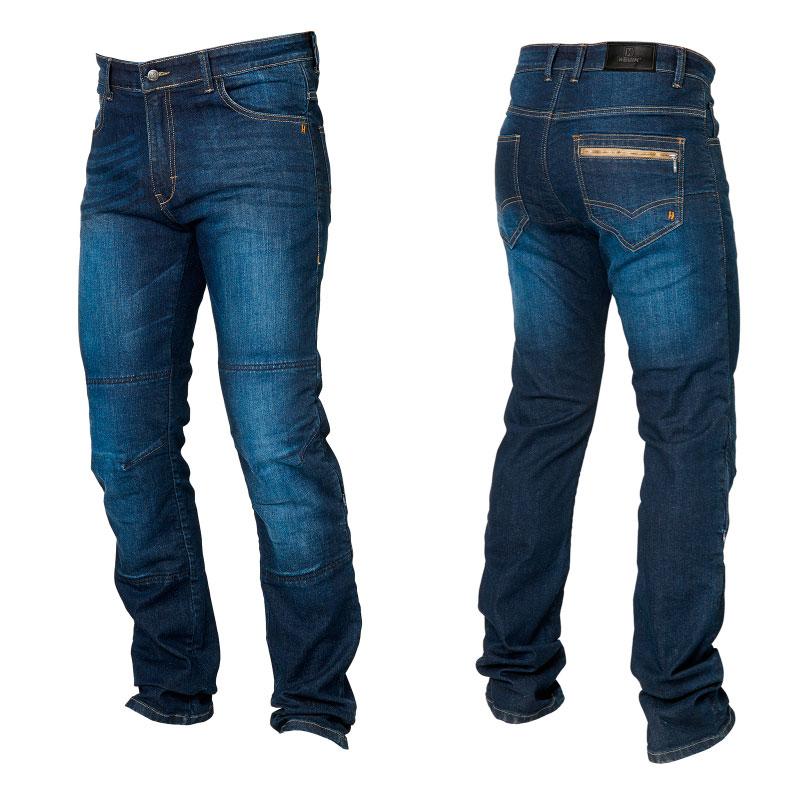bajo precio 14905 8a825 LIQUIDACION Pantalon vaquero moto de hombre marca Hevik