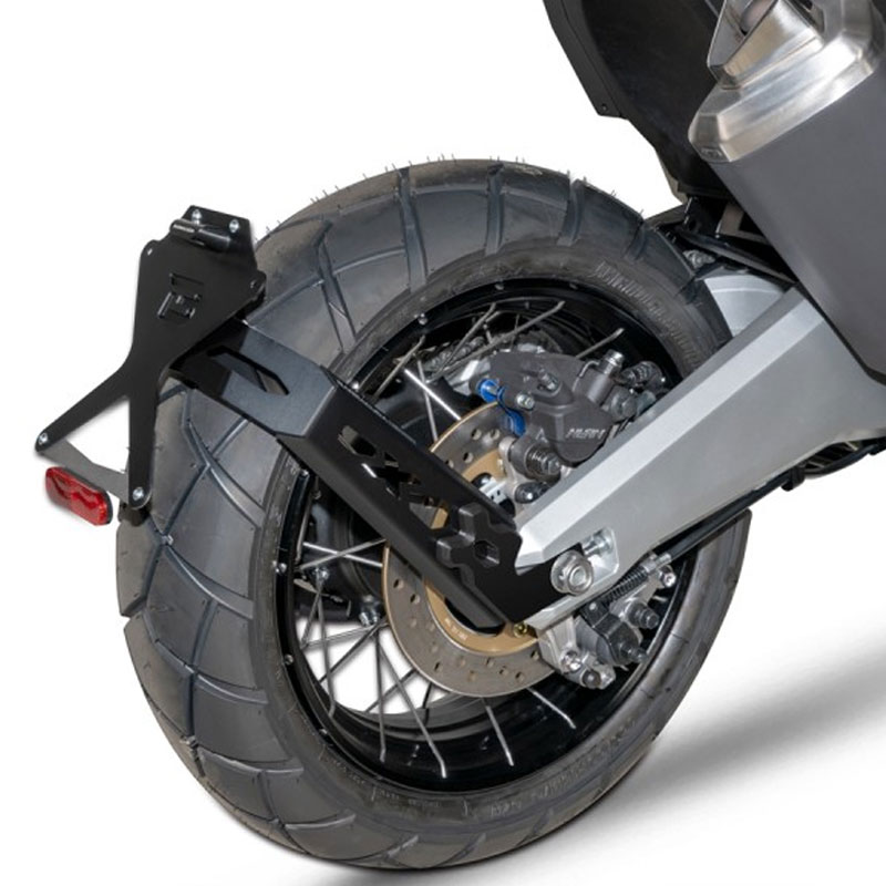 Portamatriculas Side Naked Honda X Adv Barracuda Para