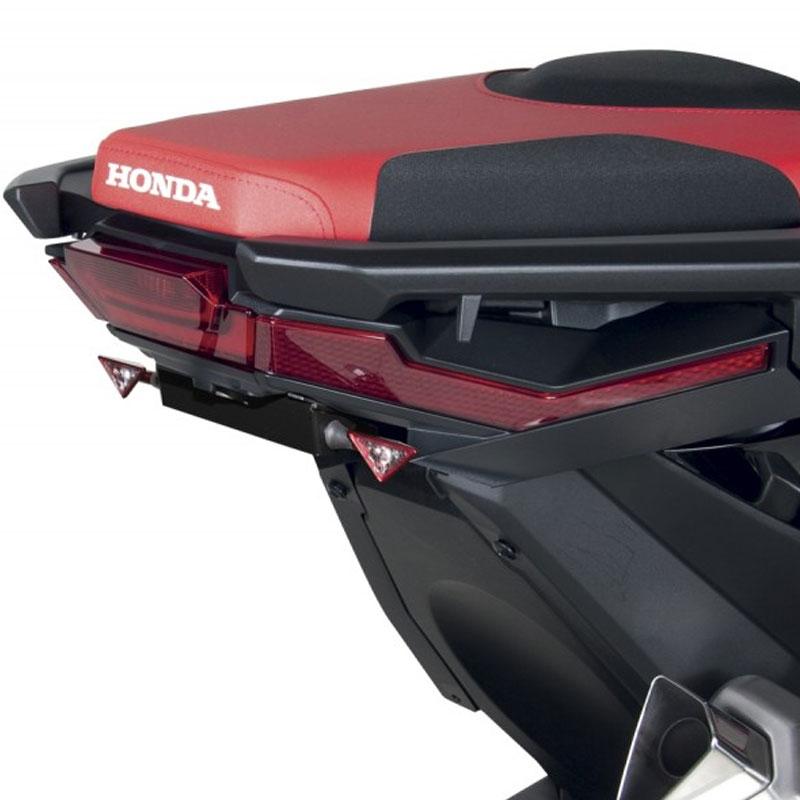 portamatriculas lateral barracuda honda x-adv 750 | Nilmoto