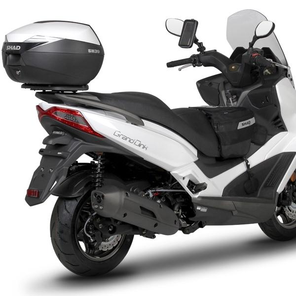 soporte maleta trasera shad moto kymco grand dink 125 300 16 nilmoto. Black Bedroom Furniture Sets. Home Design Ideas