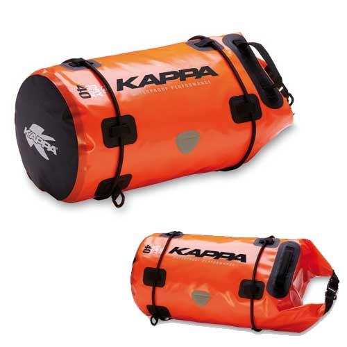 2422b988fc1 KAPPA Bolsa rulo naranja impermeable 40 litros | Nilmoto