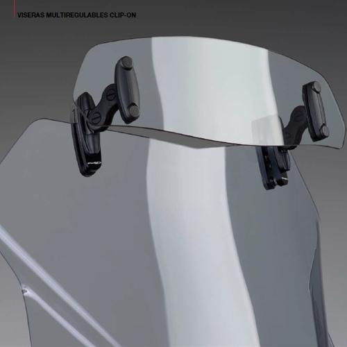 Visera Universal Deflector Regulable Para Cupulas Y