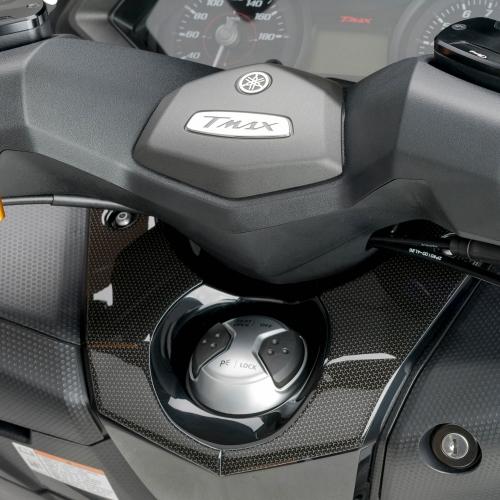 Adhesivo 3D Protecci/ón Zona Llave 02 Compatible con Tmax 530 2012-2016
