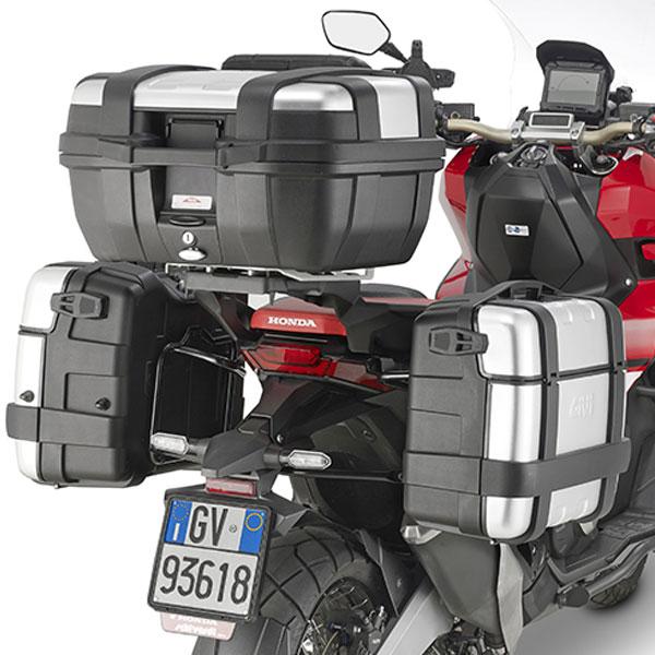 Soporte Lateral y Almohadilla de extensi/ón para Honda X-ADV MeterMall Accesorios Profesionales para Motocicleta