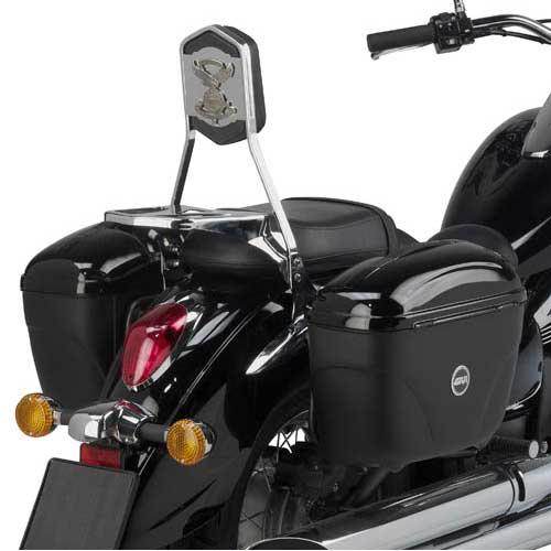 Air Con Gas >> Portamaletas lateral para maletas Givi o Kappa Monokey en Kawasaki vulcan VN900   Nilmoto