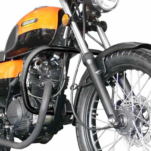 Defensa Protector De Motor Hanway Raw 125 Cafe Racer Tubo