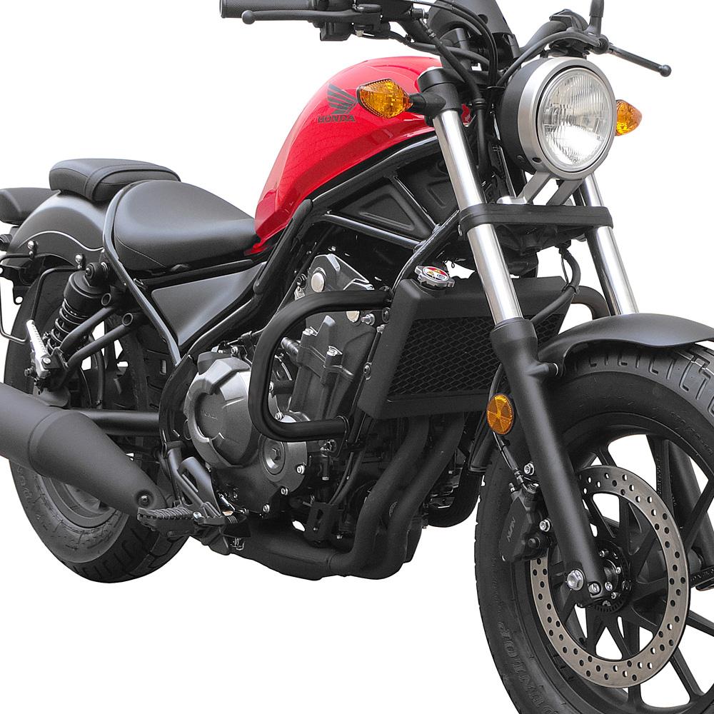Honda Cmx 500 Motorcycle Test: Defensa Protector De Motor Honda Rebel 500 2017- Marca