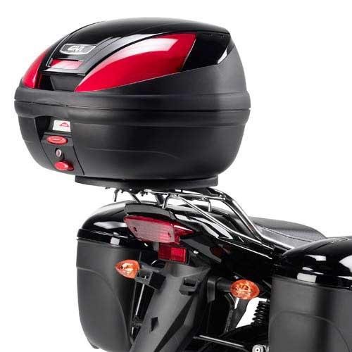 Portaequipajes Givi Para Maleta Trasera En Yamaha Ybr 125