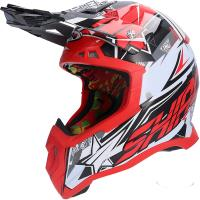 Casco Shiro MX-917 Thunder III off road en rojo