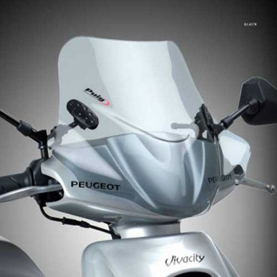 Cupula Puig para Scooter City Sport marca Keeway Outlook
