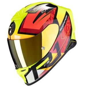 Casco moto Scorpion Exo-R1  Air Infini fluor