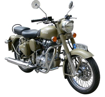 Defensa protector de motor  Royal Enfield 500 30 mm