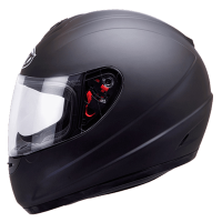 Casco Mt Thunder Infantil modelo Solid color Negro Mate