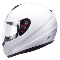 Casco Mt Thunder Infantil Solid Blanco