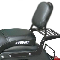SPAAN Portaequipajes color NEGRO - KEEWAY SUPER LIGHT 125 LE