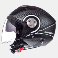 Casco Mt City Eleven Sv Tron Negro Mate-Gris