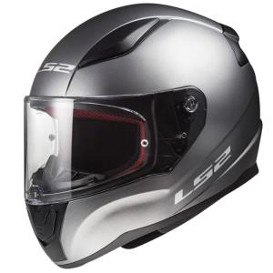 Casco LS2 Rapid Solid titanio