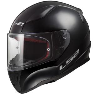 Casco LS2 Rapid Solid negro brillo