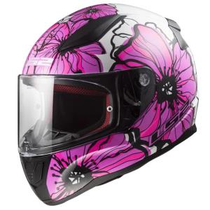 Casco LS2 Rapid Poppies