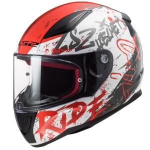 Casco LS2 Rapid Naughty rojo