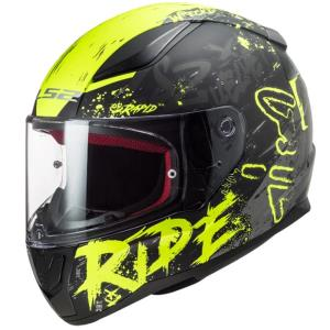 Casco LS2 Rapid Naughty amarillo