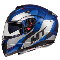 Casco Mt Atom Sv Transcend E7 Azul Brillo