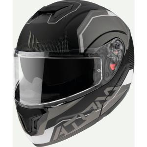 Casco MT Atom negro mate SV Quark A0