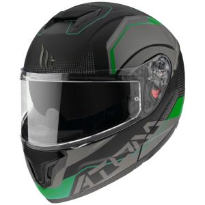 Casco MT Atom SV Quark A6 verde