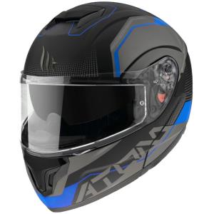 Casco MT Atom SV Quark A7 azul