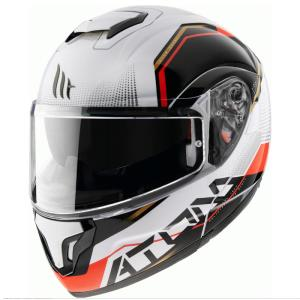 Casco MT Atom SV Quark B5 blanco
