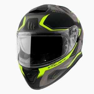 Casco Mt Thunder 3 Sv C3 Turbine amarillo