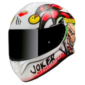 Casco Mt Targo Joker Blanco