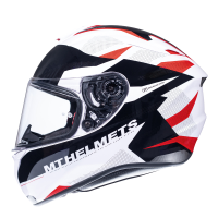 Casco Mt Targo Enjoy D5 Brillo Rojo Perlado