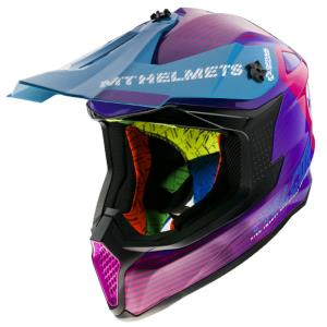 Casco Mt Falcon System B8 Rosa brillo