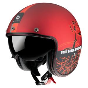 Casco Mt Le Mans 2 Sv Cafe Racer B5