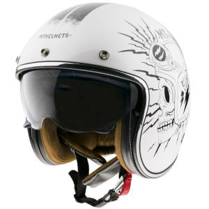 Casco Mt Le Mans 2 Sv Diler B0 blanco