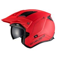 Casco Trial Mt District Sv A5 Rojo Mate