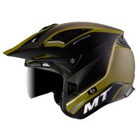 Casco Trial Mt District Sv Post B6 Verde Mate
