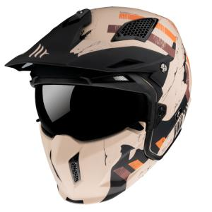 Casco Mt Streetfighter Skull2020 A14