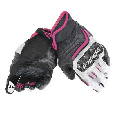 Guantes moto deportivos Dainese modelo CARBON D1 SHORT LADY