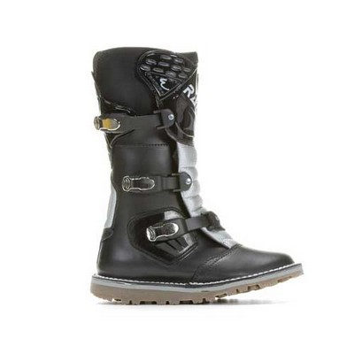 Botas de moto Rainers Trial en color negro junior