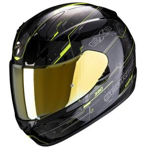 Casco moto Scorpion Exo-390 Beat fluor